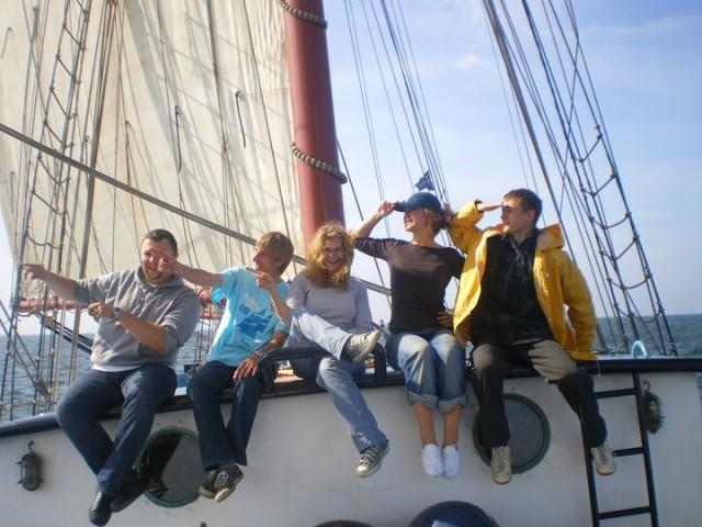 Zeilschip de Flying Dutchman